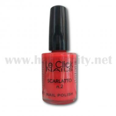Le Click Smalto n° 2 ( Scarlatto ) 15 ml.