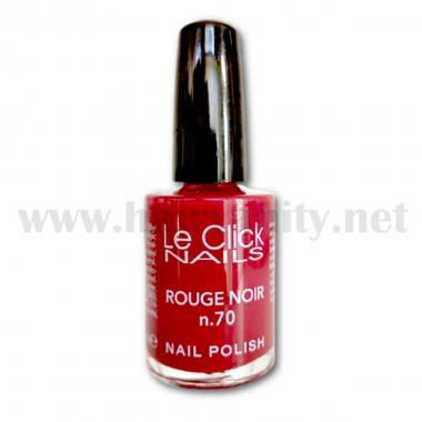 Le Click Smalto n° 70 ( Rouge Noir ) 15 ml