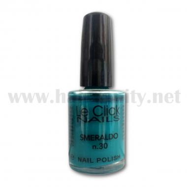 Le Click Smalto n° 30 ( Smeraldo ) 15 ml.