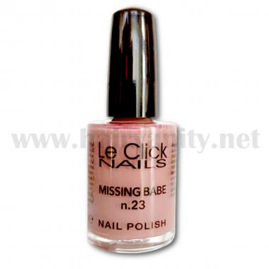 Le click Smalto n° 23 ( Missing Babe ) 15 ml.